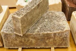 Jabón de aromaterapia de lavanda